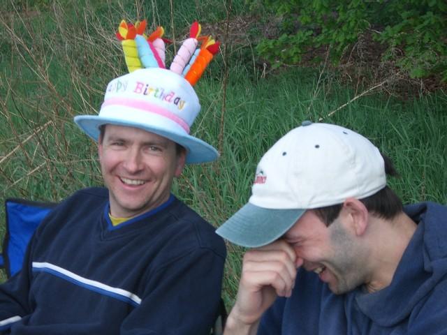 Stefan und sein lustiger Hut